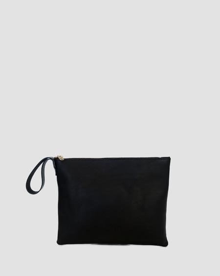 Esby Clutch - Black Calfskin