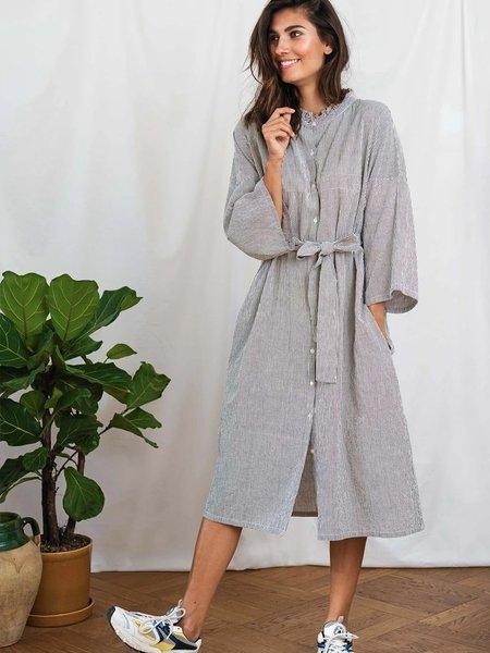 Lolly's Laundry Tumi Stripe Dress - navy/white
