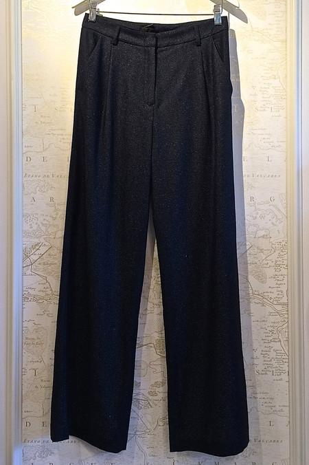 Jenni Kayne Wide Leg Pleated Trouser Pant