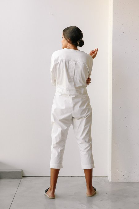 at Dawn. LS Stitching Jumper - Off White