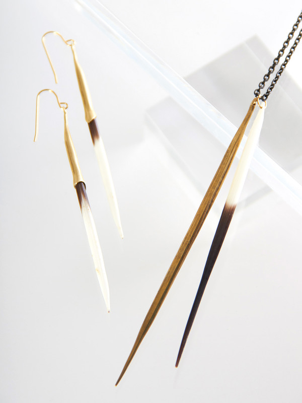 K/LLER Bionic Quill Earrings