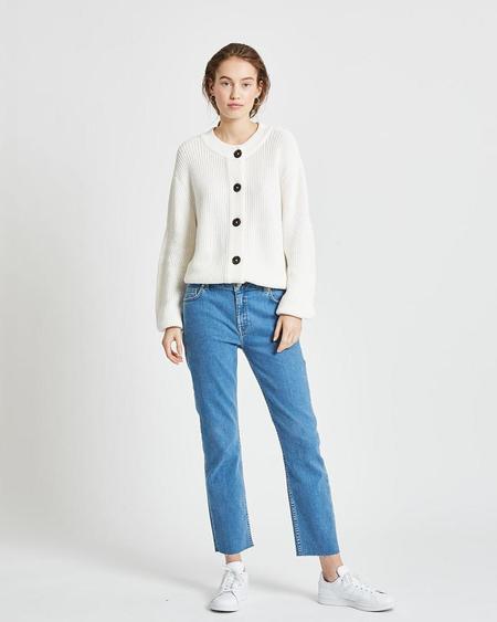 Minimum affie cardigan - broken white