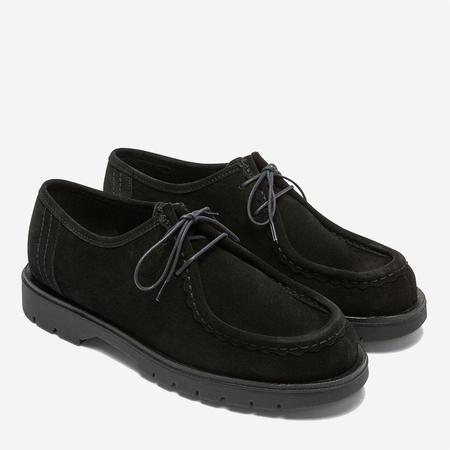 Kleman Padror VV Suede Tyrolean Shoes - Black