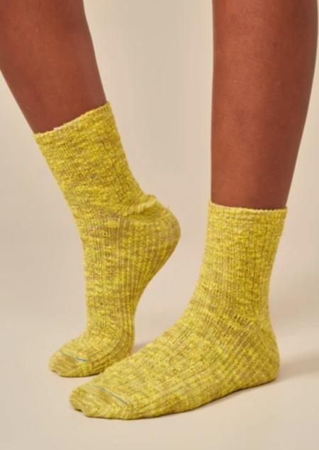 Bellerose Fich Socks - Yellow