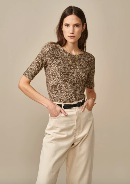 Bellerose Seas Shirt - Leopard