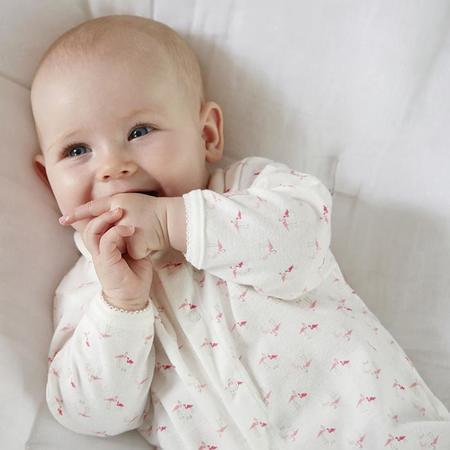 kids Petit Bateau Baby Pyjamas With Feet set