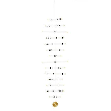 Sidai Designs Fourteen Sticks Hanging Mobile - White