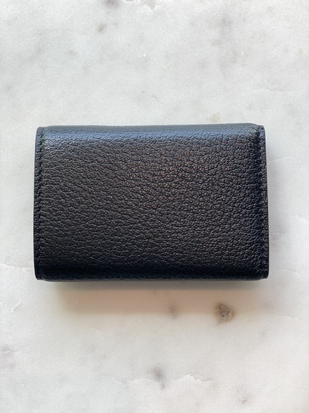 Maison Margiela Small Snap Wallet - Black