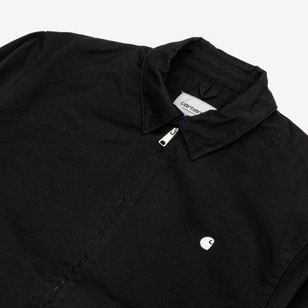 CARHARTT WIP Madison Jacket - Black Wax Rinsed