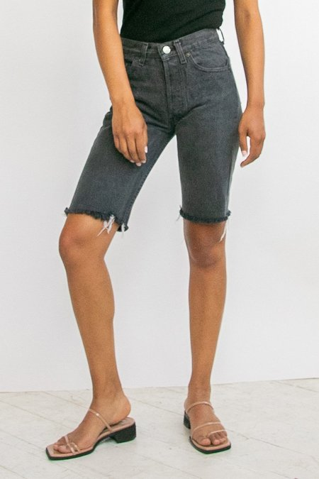 vintage Levi's Cutoff Denim Shorts - black