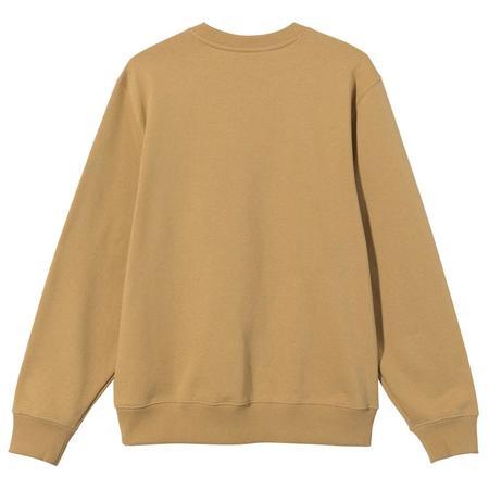 Stussy Stock App. Crew sweater - Khaki