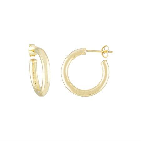 Machete Perfect mini Hoops - 14k Gold