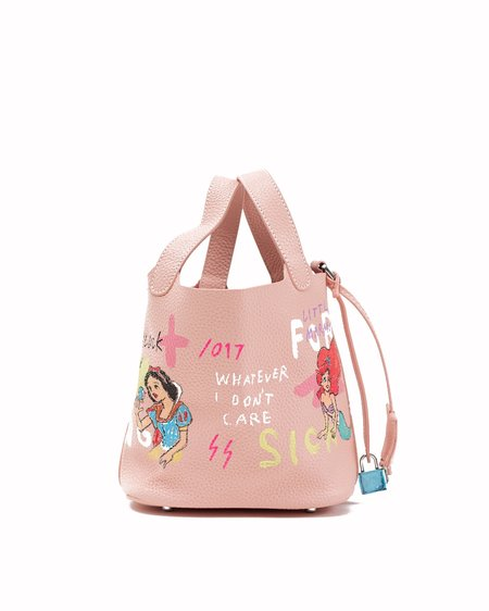 Guernika Paint Cube Snow White and Little Mermaid Bag - Pink