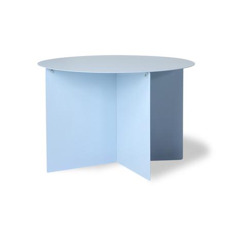 HKliving Metal Side Table - Blue
