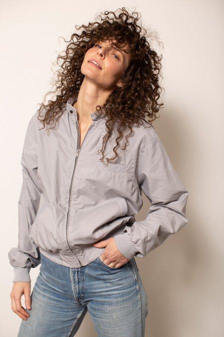 Vintage 80's Spring Jacket - Grey