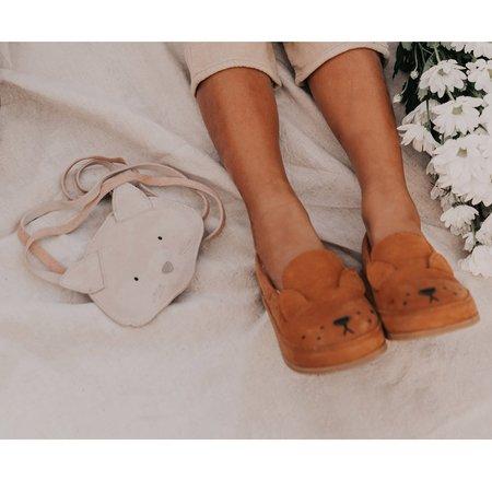 Kids Donsje Kifi Lion loafers shoes - Caramel