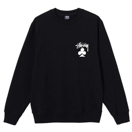 Stussy Club Crew sweater - Black