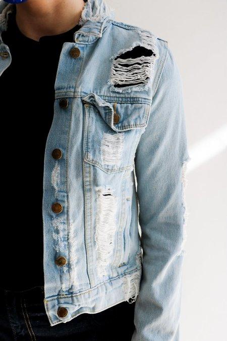 [Pre-loved] CARMAR Distressed Jacket - Denim