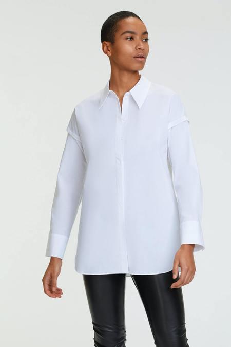 Dorothee Schumacher Poplin Power Blouse - white