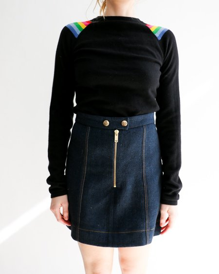 [Pre-loved] Talula Rainbow Stripe Cashmere Sweater