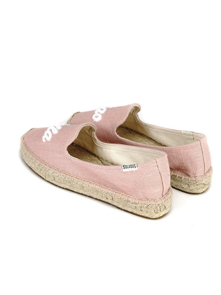 Soludos CIAO BELLA SMOKING SLIPPERS - Dusty Rose 684