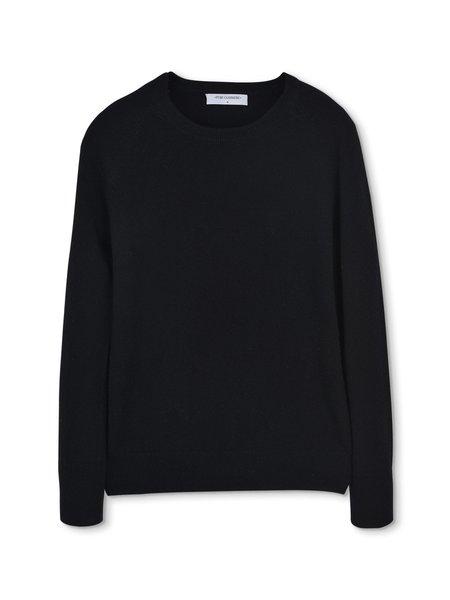 PURECASHMERE NYC Classic Crew Neck Sweater - Black