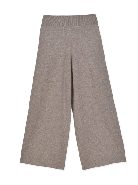 PURECASHMERE NYC Loose Fit Pants - Beige
