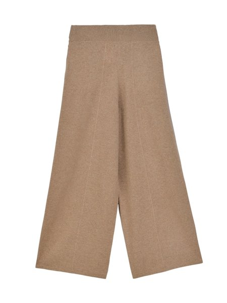 PURECASHMERE NYC Loose Fit Pants - Dark Beige