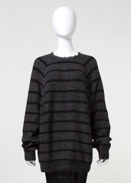 Unisex complexgeometries Surge Sweater - Black Stripe