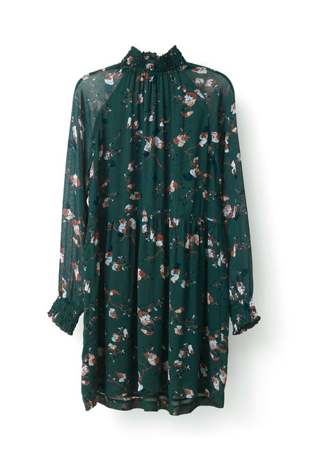 Ganni Marietta Georgette Dress