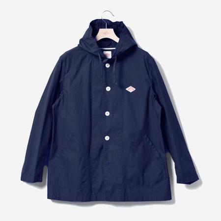 Danton Workwear Hooded Jacket - Navy