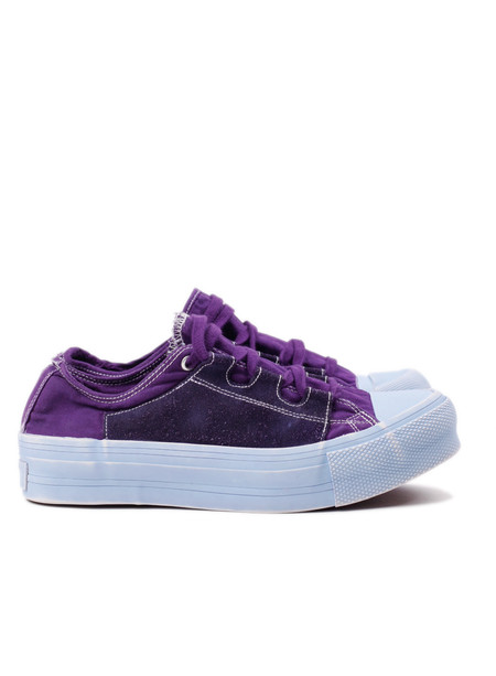 Men's Needles Asymmetric Sneaker Purple