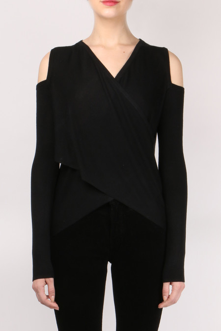 Derek Lam 10 Crosby Cross Front Sweater
