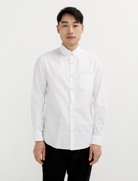 Sunspel Button Down Washed Shirt