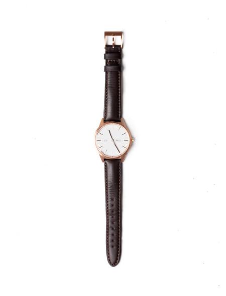 Uniform Wares C40 Calendar Watch PVD Rose Gold