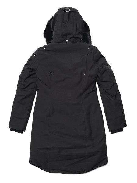 Moose Knuckles Stirling Parka Lds - Black/Black