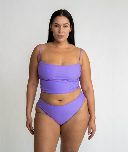 The Saltwater Collective Amanda Top - Lavender