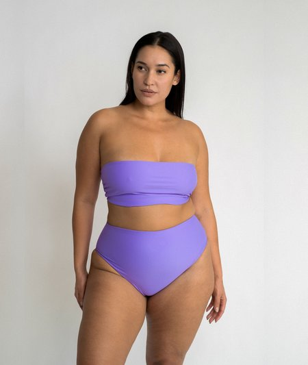 The Saltwater Collective Bettina Bottom - Lavender