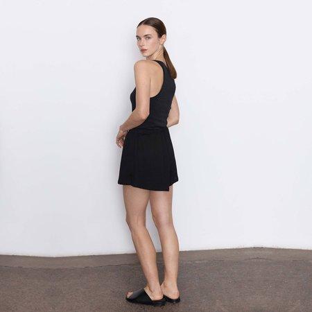 St. Agni Odile Lounge Shorts - Black