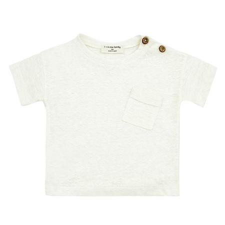 kids 1+ In The Family Baby And Child Gabriel T-shirt - Cream