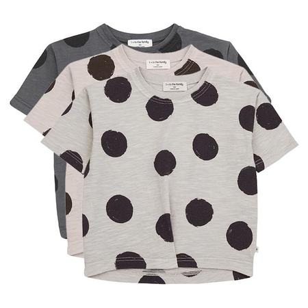 Kids 1+ In The Family Mariela T-shirt Dress With Dot Print