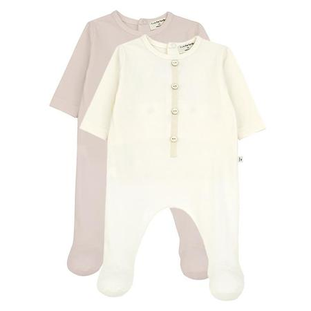 Kids 1+ In The Family Didier Jumpsuit With Feet