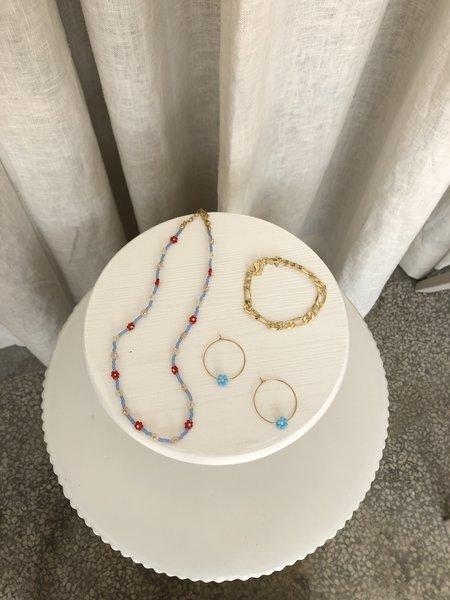 Ri-Ri-Ku Large Mushroom Jewelry Display