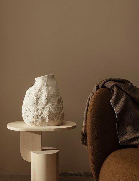 Ferm Living Herringbone Blanket - Sugar Kelp
