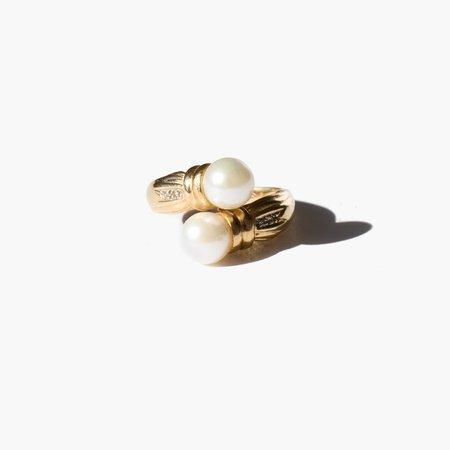 Kindred Black Fontana Ring - Gold