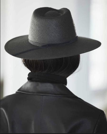 Janessa Leone Andy Hat - Black