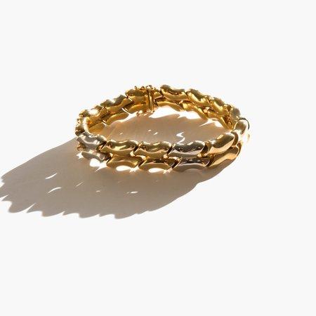 Kindred Black Saint-Cloud Bracelet - 14k gold