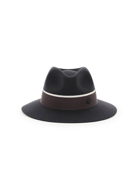 Maison Michel Rico Felt Fedora Hat