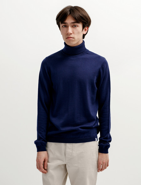 Norse Projects Marius Merino Principle Blue