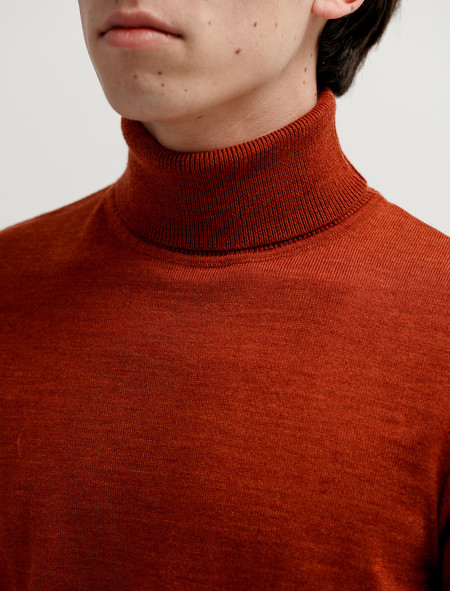 Norse Projects Marius Merino Pure Umber